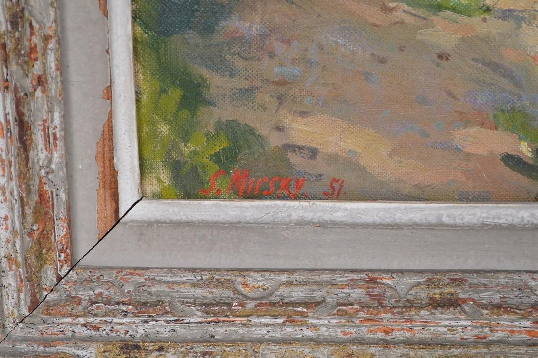 Samuel Mirsky (1883 - 1980) oil on canvas, summer - 5
