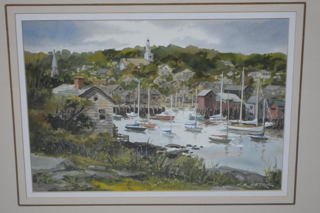 Ferdinand Petrie (Am. 1925 - 2007) Watercolor - - 2