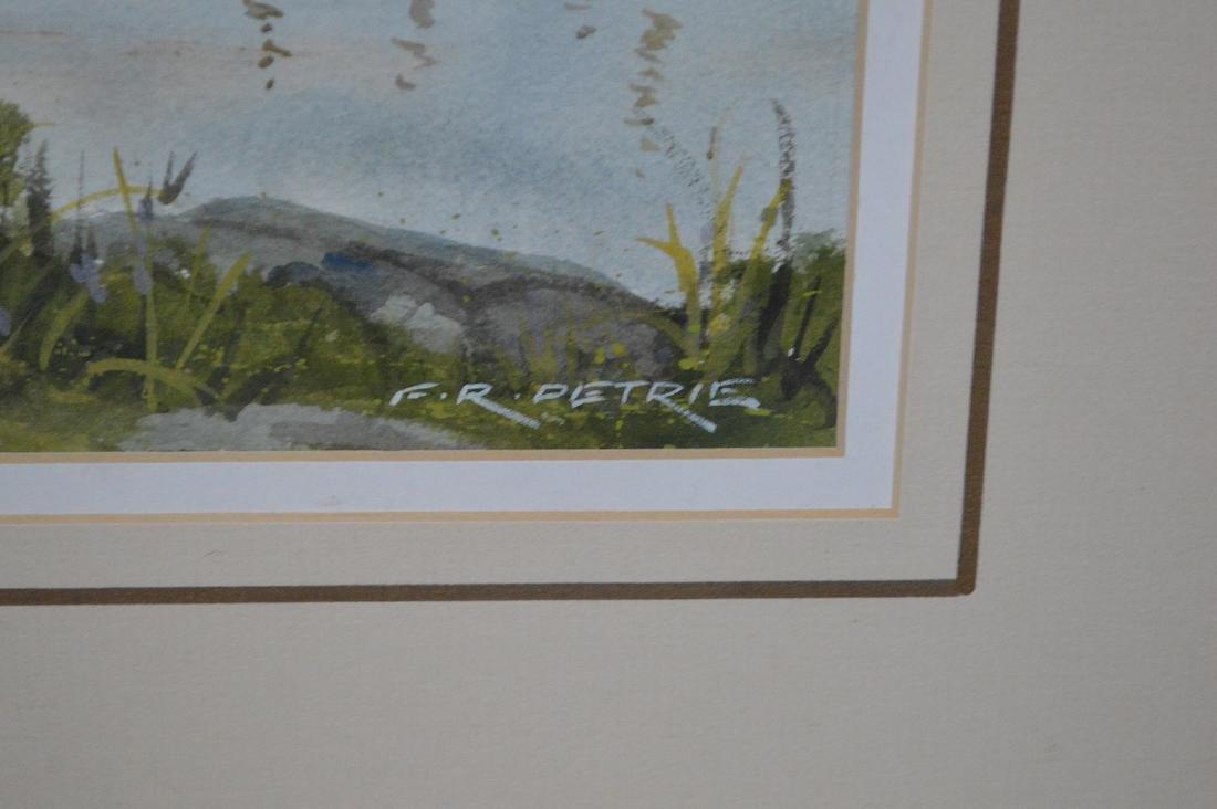 Ferdinand Petrie (Am. 1925 - 2007) Watercolor - - 3