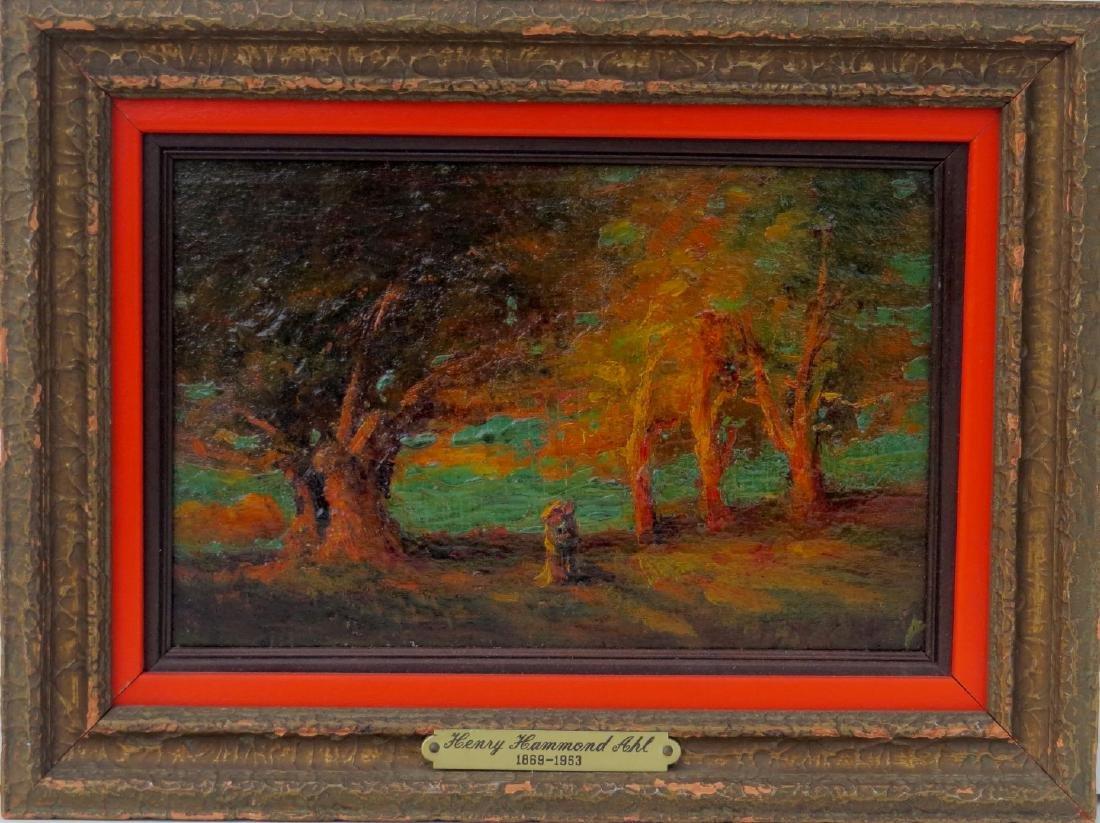 HENRY HAMMOND AHL oil painting Landscape