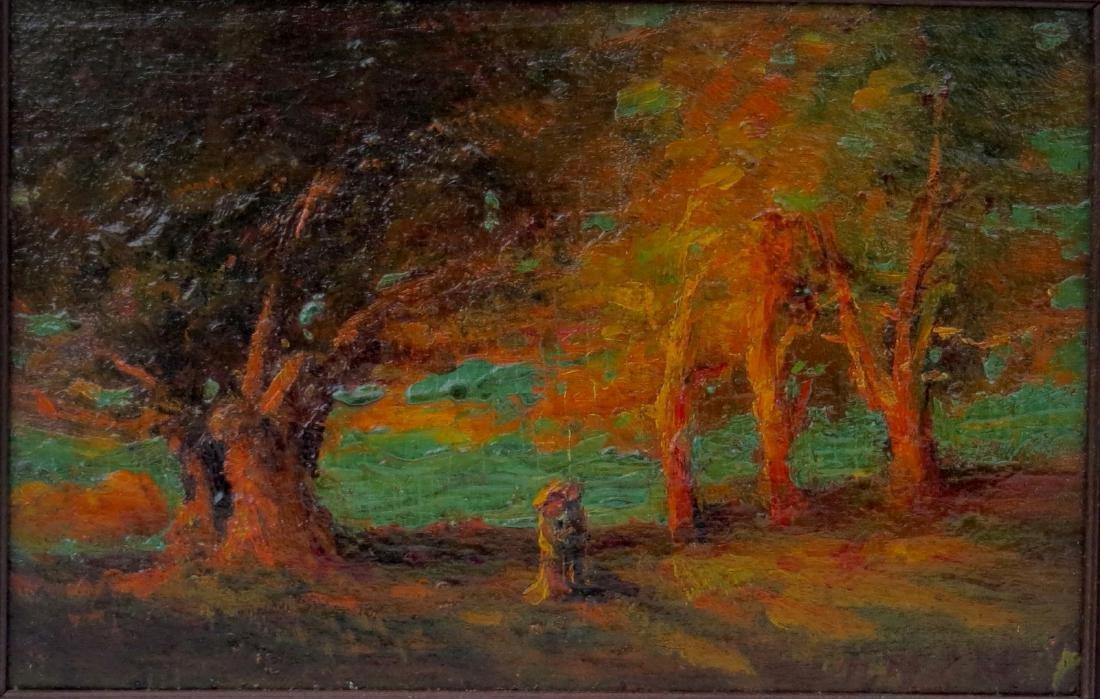 HENRY HAMMOND AHL oil painting Landscape - 2