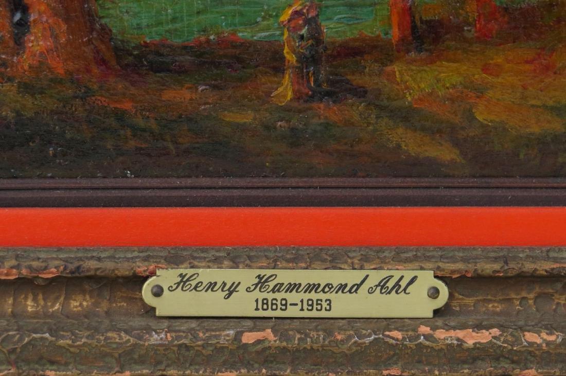 HENRY HAMMOND AHL oil painting Landscape - 3