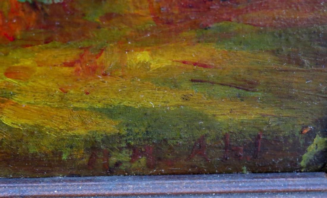 HENRY HAMMOND AHL oil painting Landscape - 7