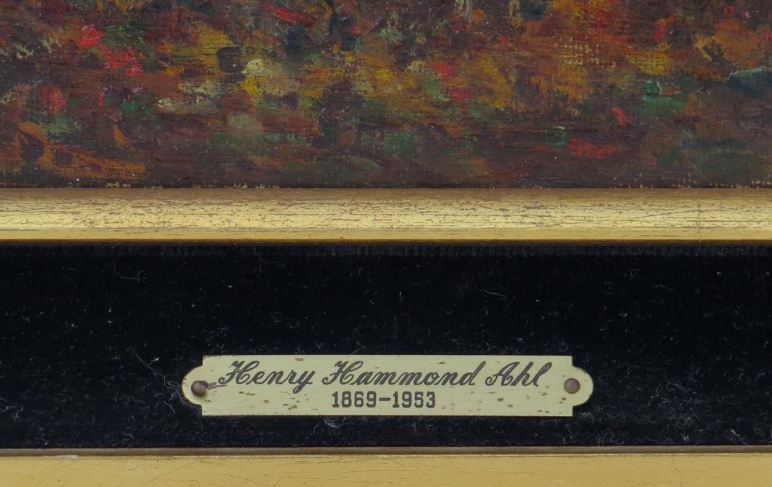 HENRY HAMMOND AHL, (Massachusetts/New York, 1869-1953), - 3