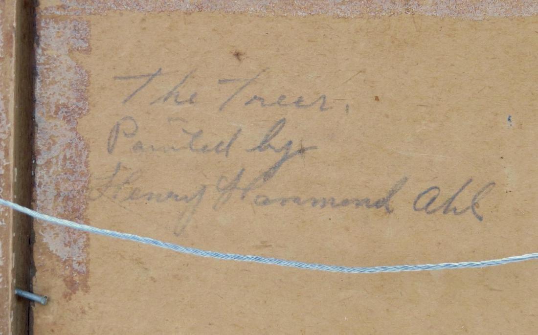 HENRY HAMMOND AHL, (Massachusetts/New York, 1869-1953), - 5