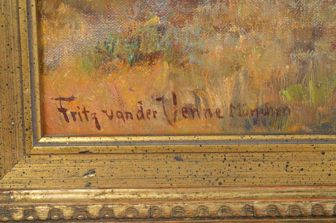 Fritz van der Venne (GERMAN, 1860–1960) Farmers on the - 4