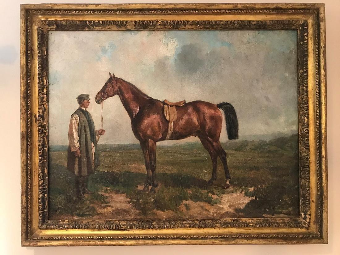 RUDOLF FEROROVICH FRENTZ (Russian. 1831-1918)  Portrait