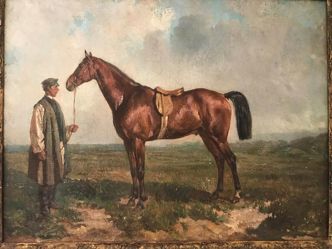 RUDOLF FEROROVICH FRENTZ (Russian. 1831-1918)  Portrait - 2