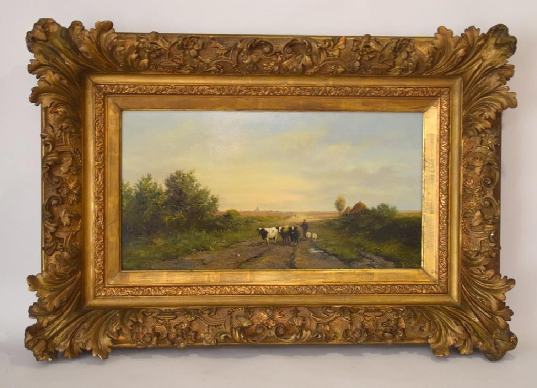 Gerard Koekkoek (Dutch 1871-1956) Landscape, oil on