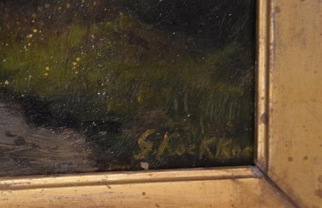 Gerard Koekkoek (Dutch 1871-1956) Landscape, oil on - 3