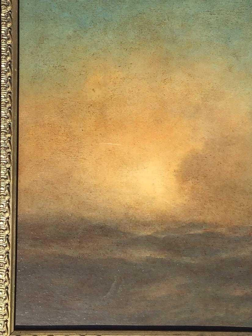 Attributed to: Ivan Aivazovsky, Russian oil on board, - 5