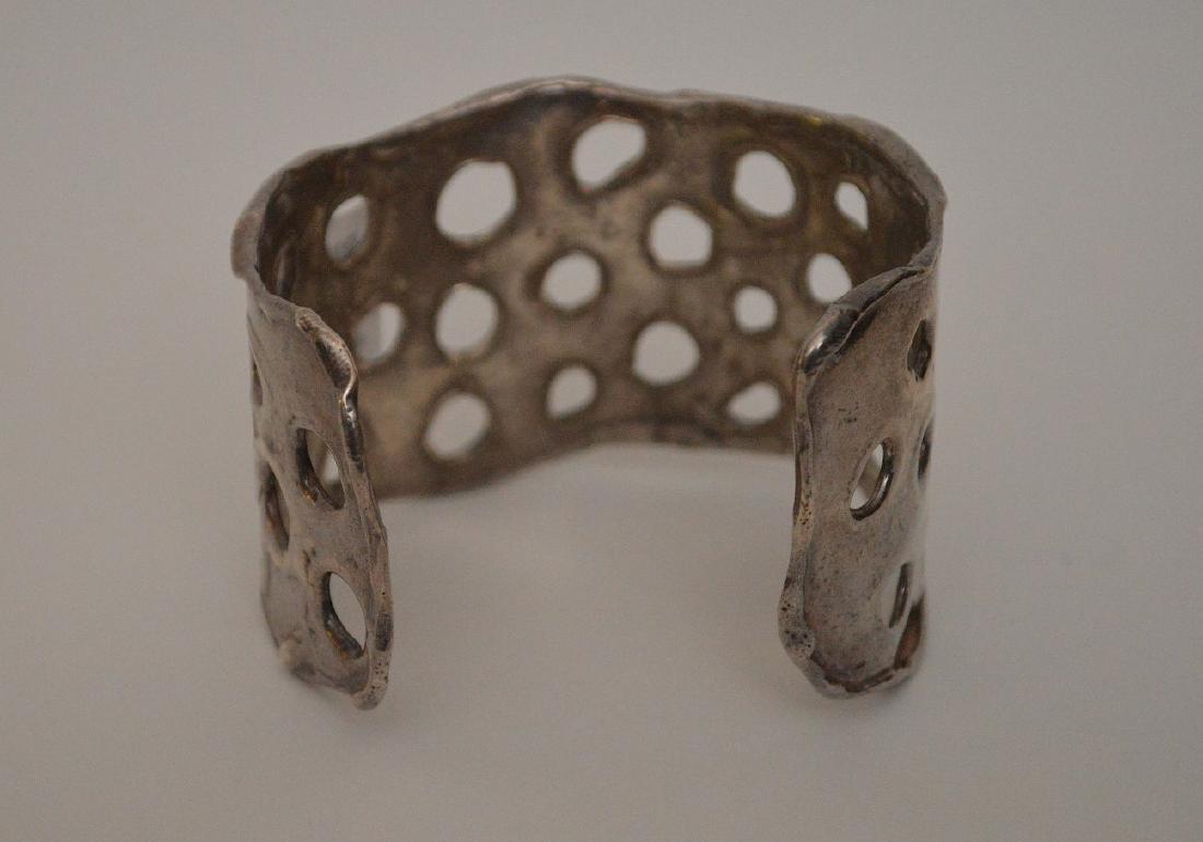 Sterling cuff bracelet by Apianna, 3 ozt - 2