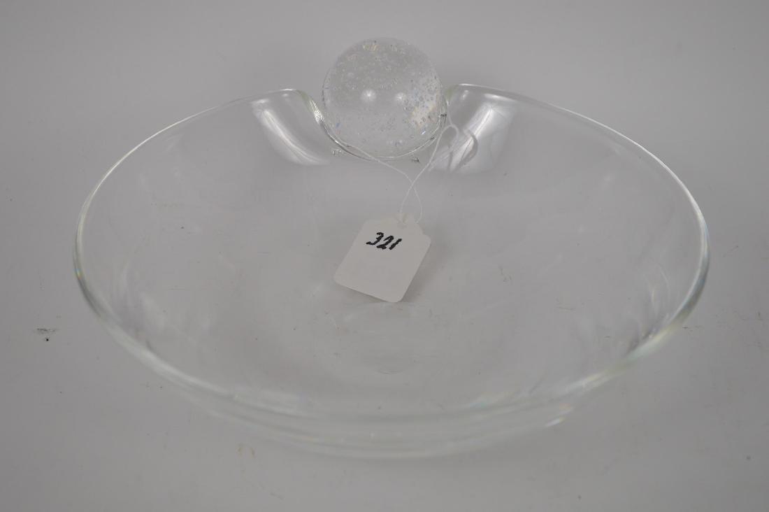 "Steuben crystal bowl, 3 1/8""h x 8 1/2""dia - 2"