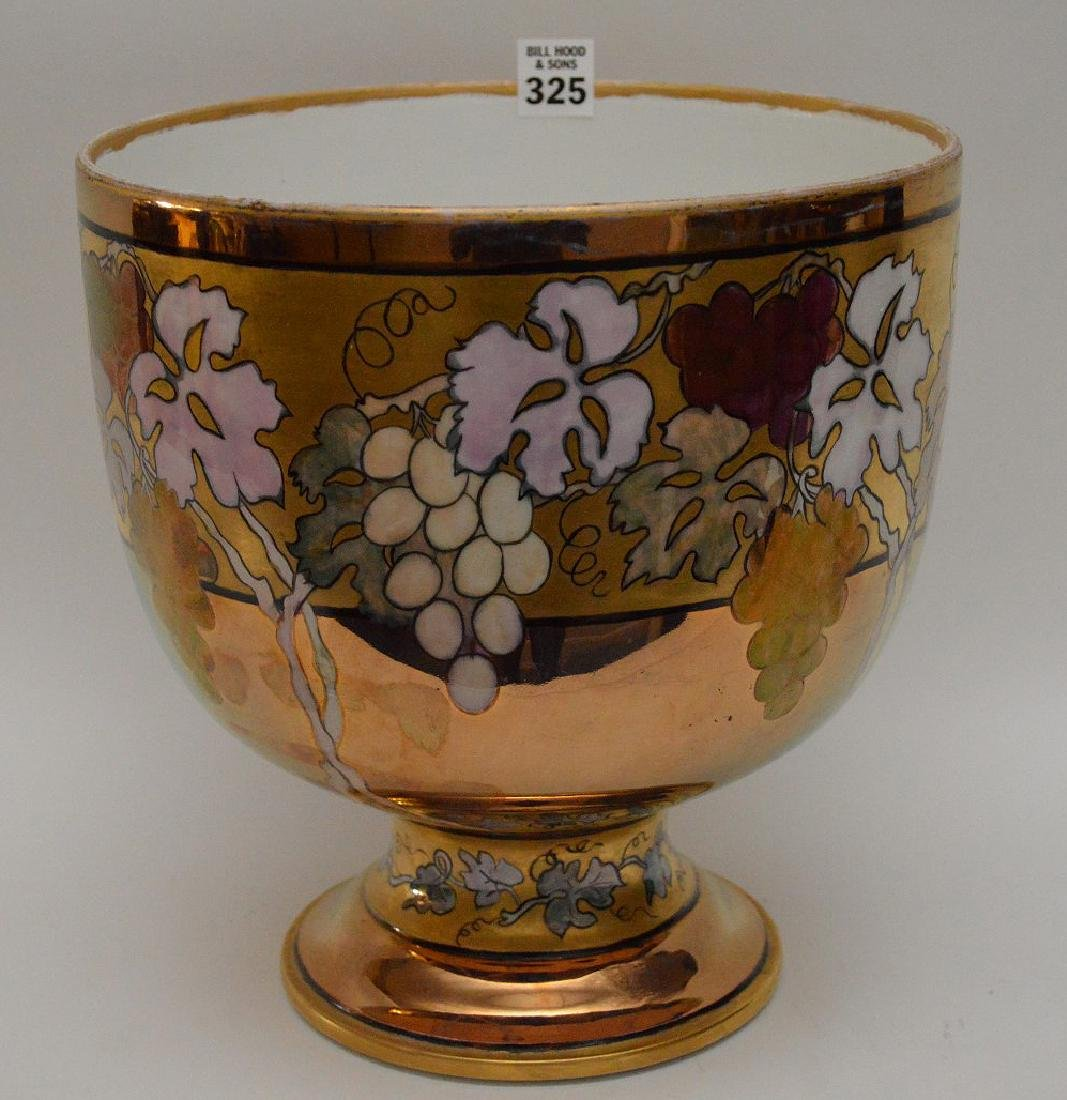 French Limoges hand painted pedestal centerpiece, 10 - 2