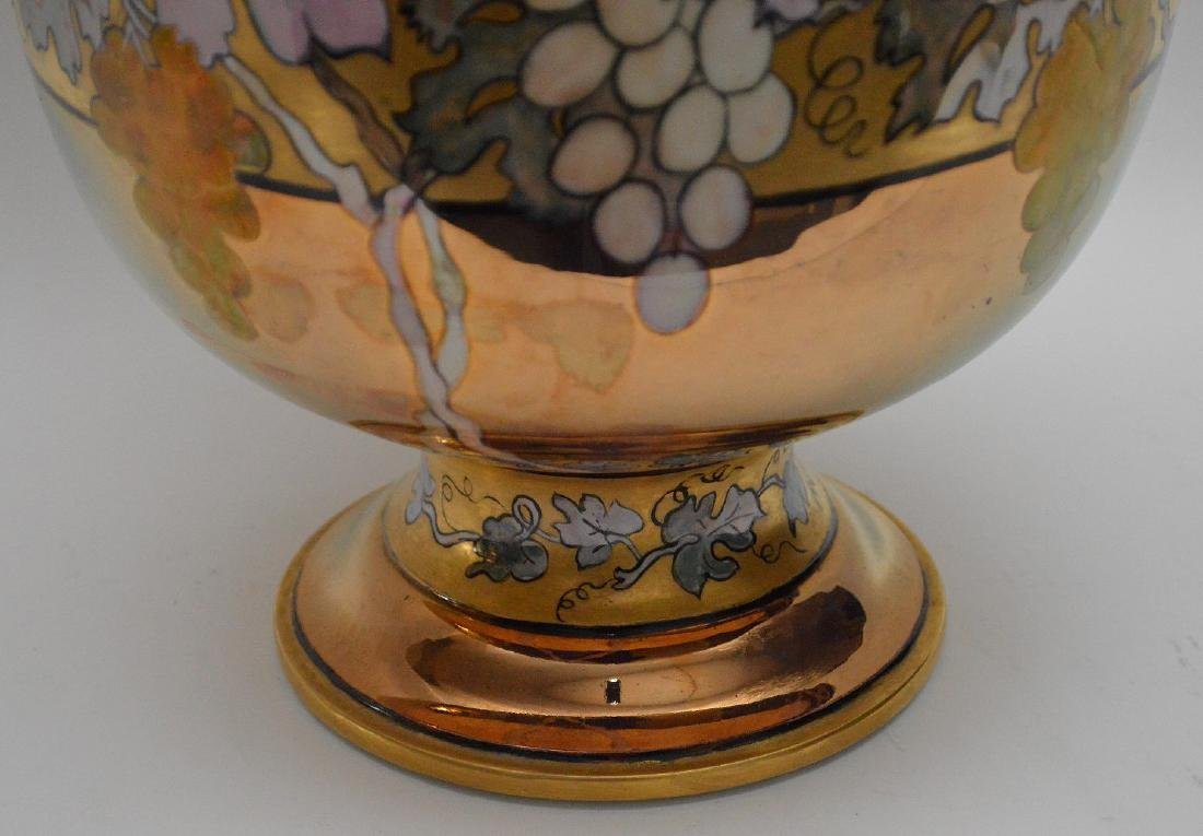 French Limoges hand painted pedestal centerpiece, 10 - 3