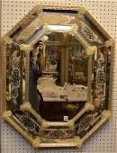Venetian mirror 35h x 28w
