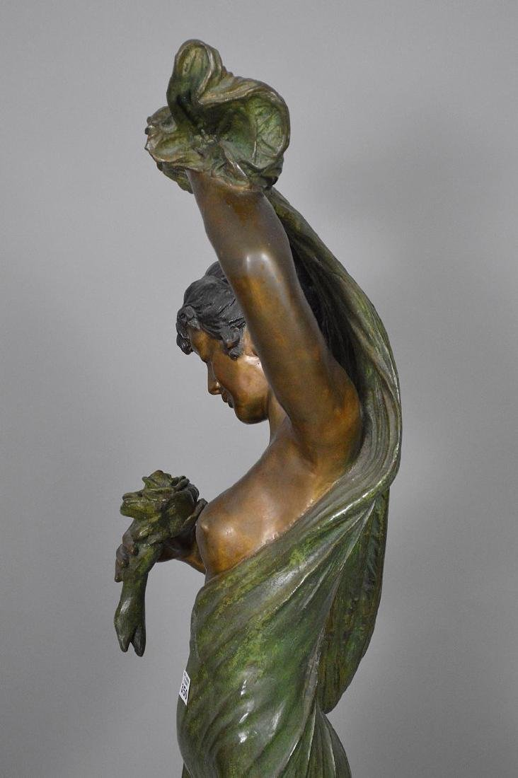 Bronze Art Nouveau Woman Sculpture AFTER: Giorgio - 10