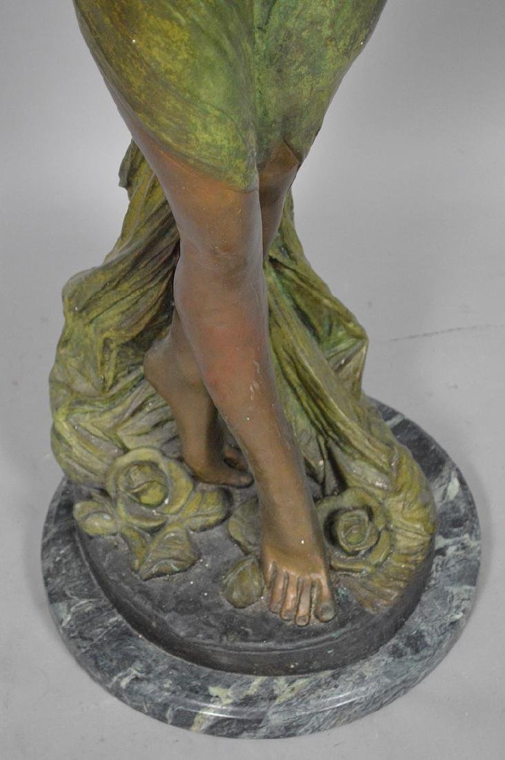 Bronze Art Nouveau Woman Sculpture AFTER: Giorgio - 4