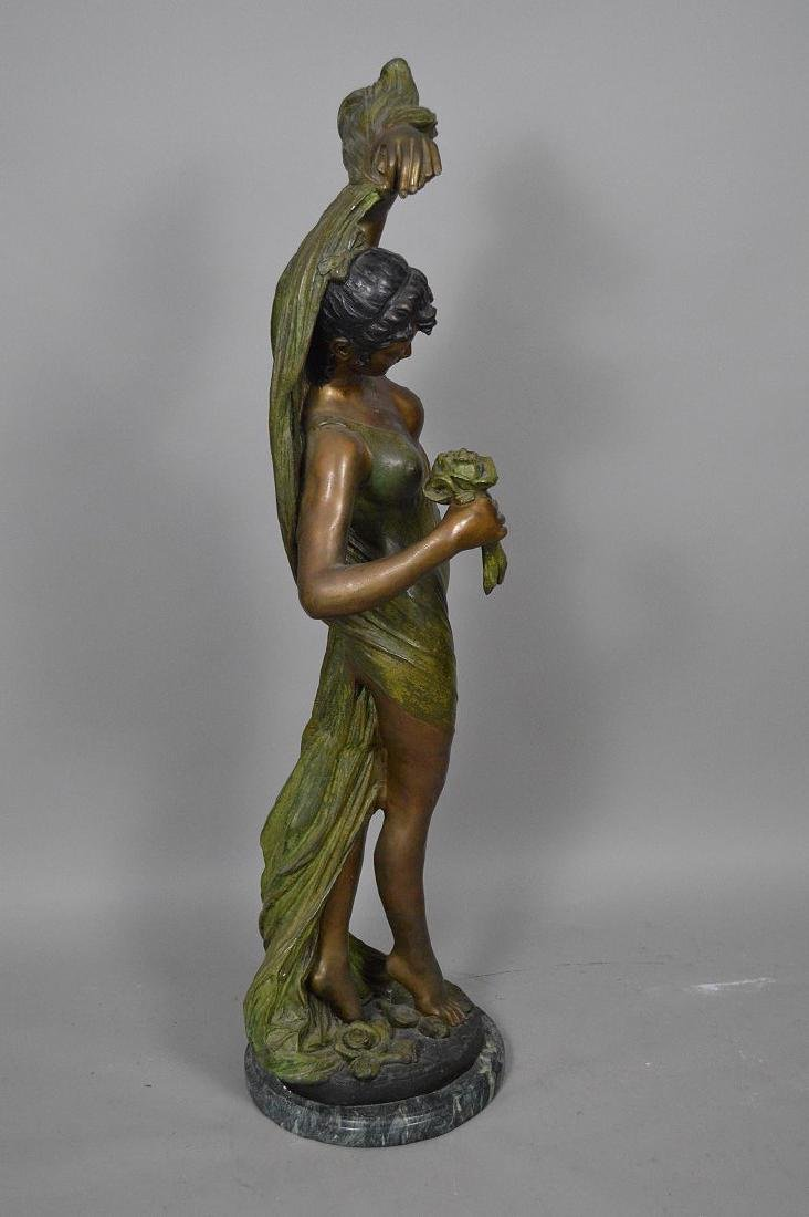 Bronze Art Nouveau Woman Sculpture AFTER: Giorgio - 5