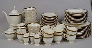 Lenox china service Langdon Gate pattern incl 14