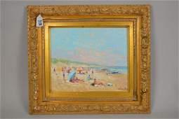 Niek van der Plas Dutch b 1954 oil on wood panel