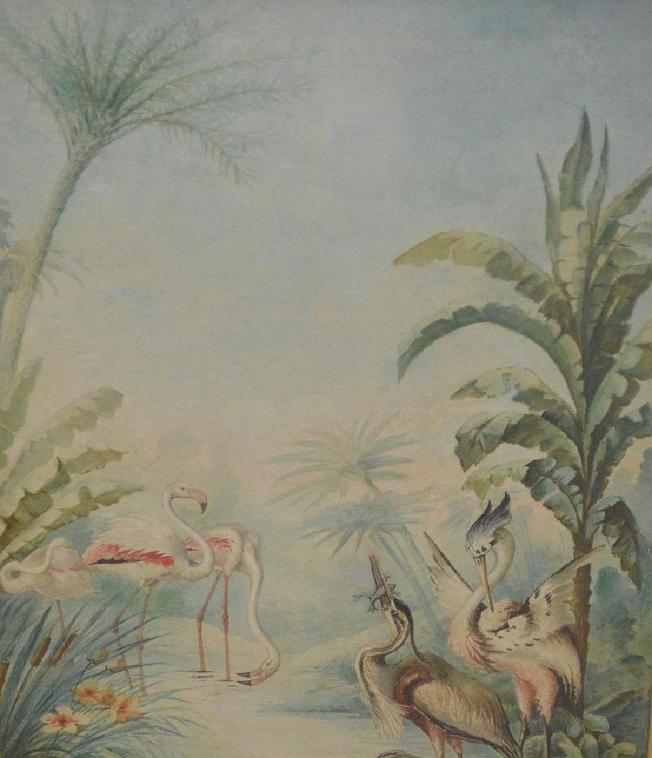 American School, Florida Scene, Watercolor on Paper, - 2