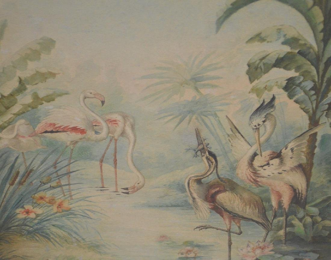 American School, Florida Scene, Watercolor on Paper, - 4
