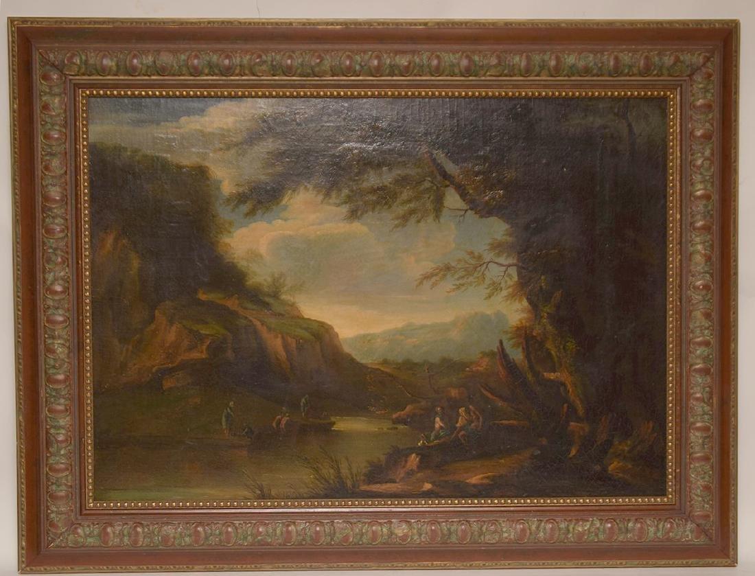 Allessandro Magnasco (Italy 1667 - 1749) Old Master oil
