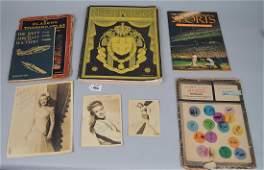Lot of Ephemera, Vol. 1 No. 1, First Edition Sports