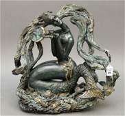 Jiang Tiefeng CHINESE 1938 original bronze sculpture