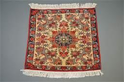 Fine Vintage Turkish Oushak Kars Rug. Nice, clean and