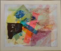 Chapin (American, 20th c.), Abstract Composition, mixed