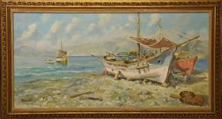 Gino Salviati  Italian 1911  1998 oil on canvas