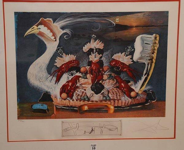2010: Salvador Dali, 1904-1989, Spain, colored lithogra