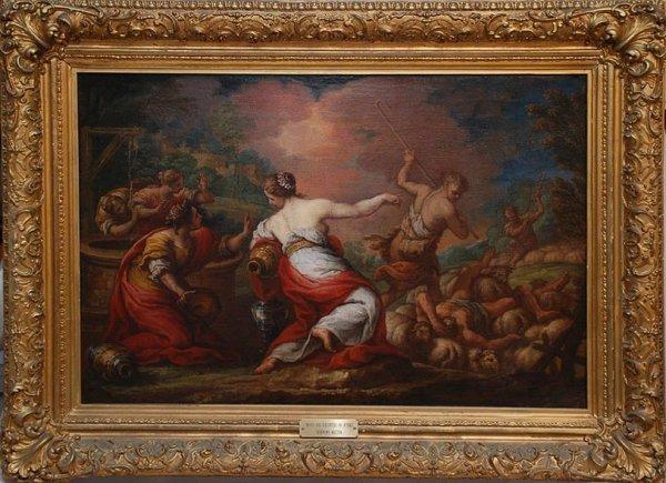 2121: 18th century, Old Master, Italian School, oil on