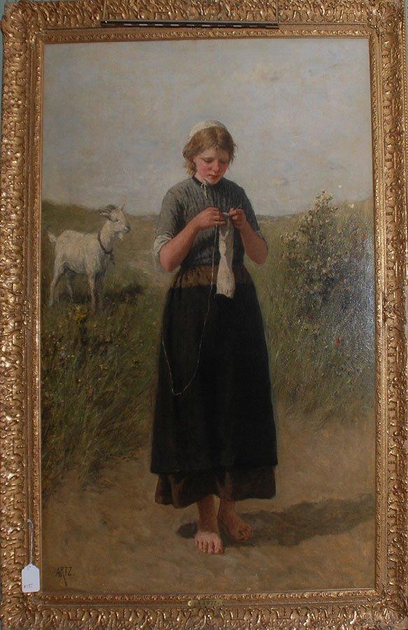 2137: David Adolf Constant Artz DUTCH 19th Century