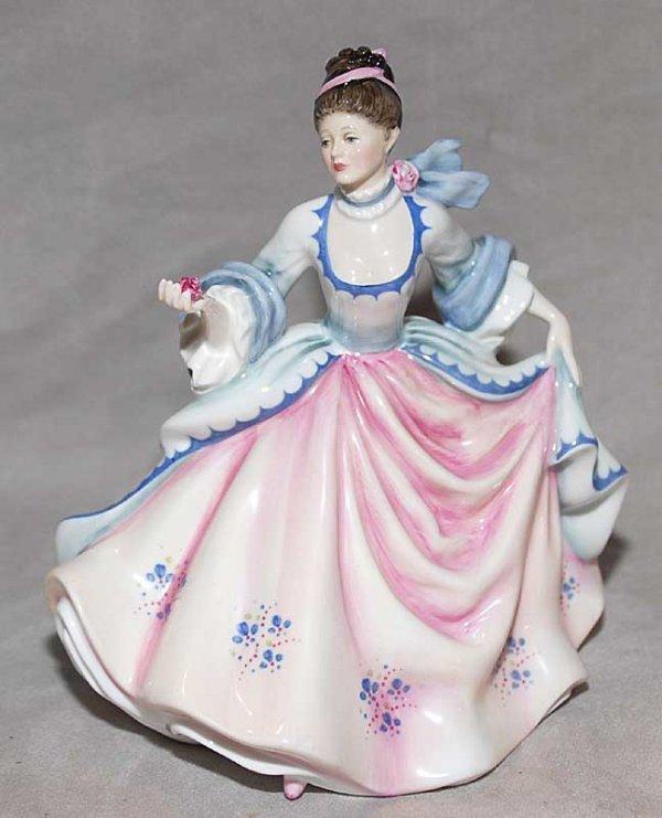 """1009: Royal Doulton """"Rebecca"""" HN 2805"""
