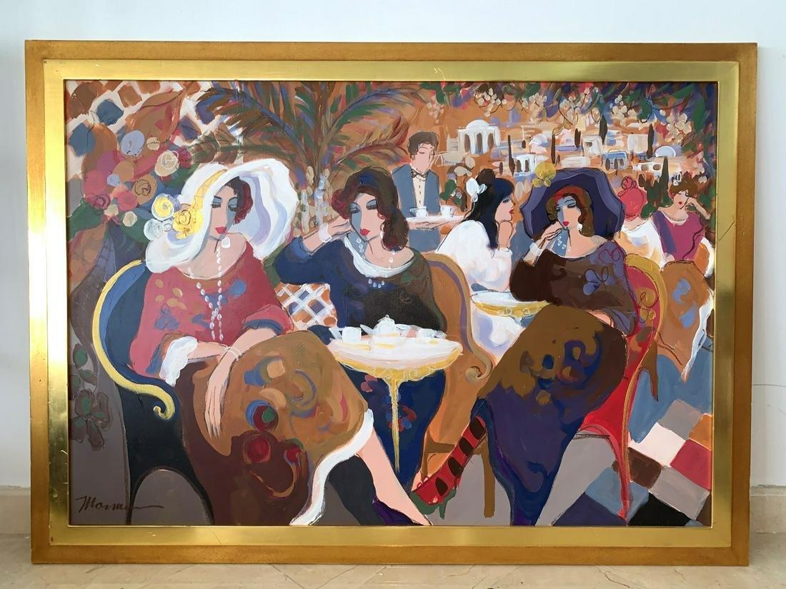 ISAAC MAIMON  Israeli, 20th Century  Untitled Acrylic