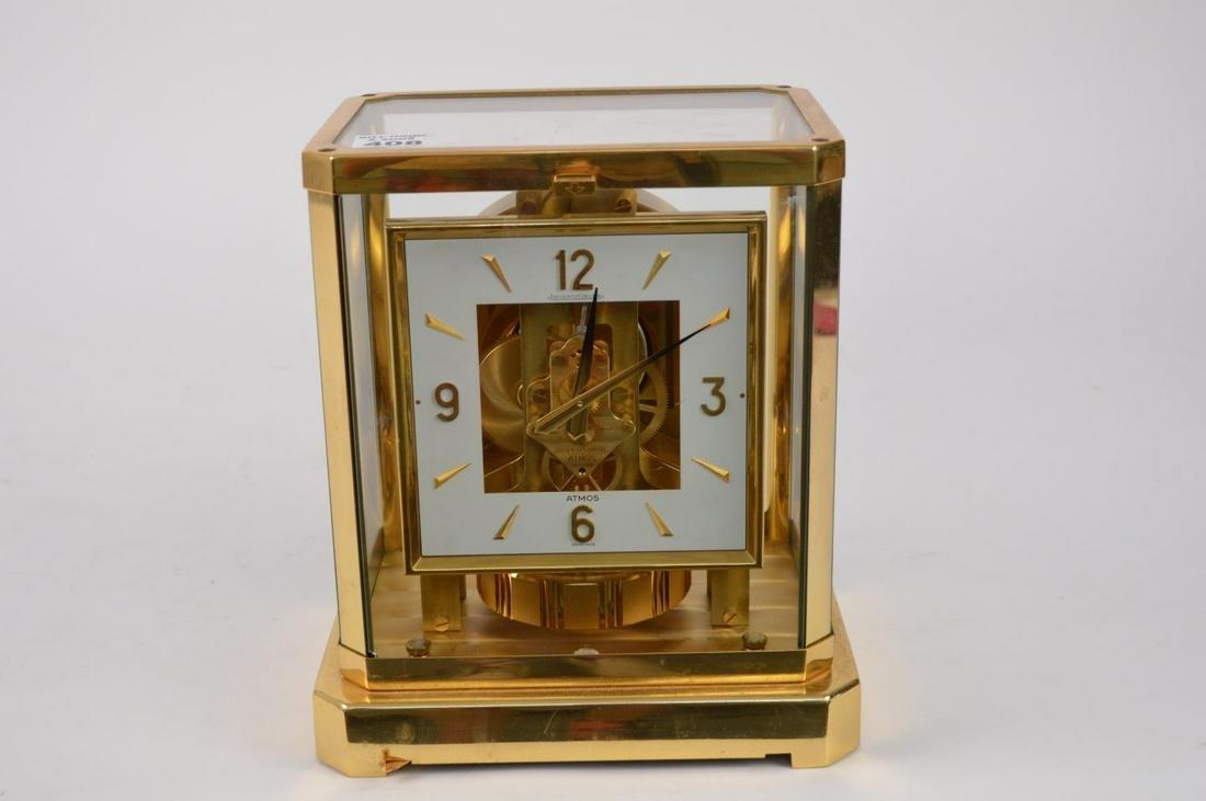 "Jaeger-LeCoultre Atmos Clock, 9 1/4""h x 8 1/4""w"