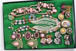 Vintage Costume Jewelry Lot. Hagler, Coro, Eugene