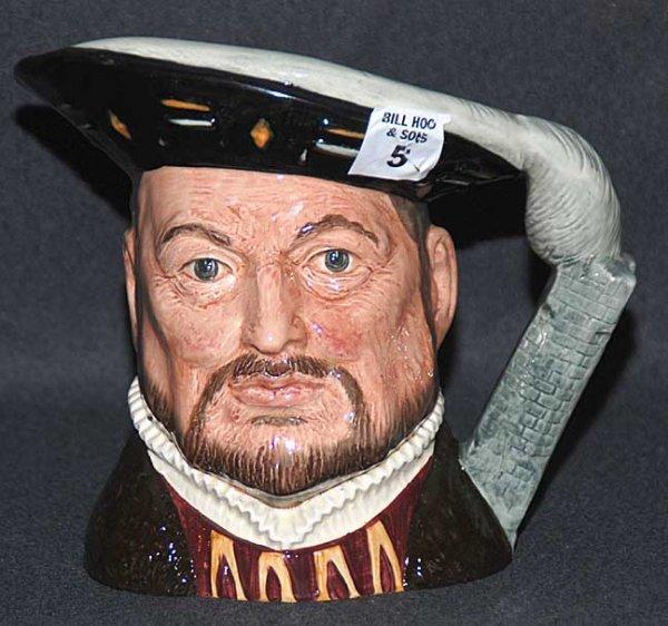 "5: Royal Doulton Toby/character jug ""Henry VIII"" D6642,"