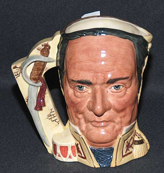 """8: Royal Doulton Toby/character jug """"The Battle of The"""