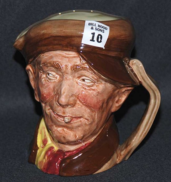 """10: Royal Doulton Toby/character jug """"Arry"""" RD847679, 6"""