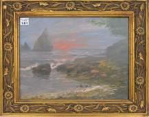 19TH CENTURY EUROPEAN SCHOOL, oil on canvas on board,