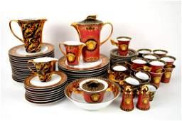 "Versace Rosenthal ""Medusa"" china set, incl; 8 dinner"
