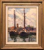 Harry William Powers (American 1880 - 1957) oil on