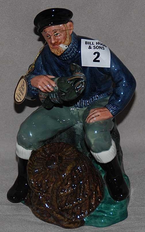 "2: Royal Doulton figure ""The Lobster Man"" HN2317, 7""h"