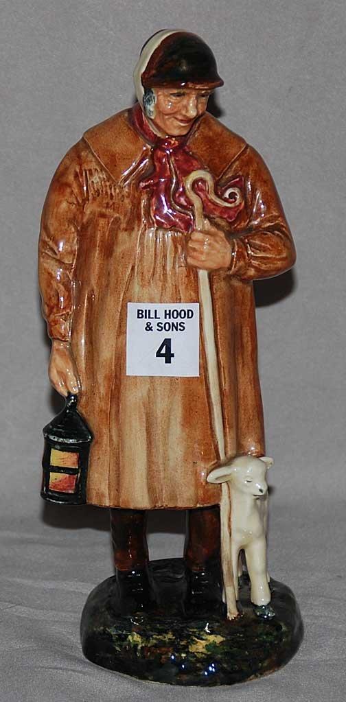 "4: Royal Doulton figure ""The Shepherd"" HN1975, 9""h"