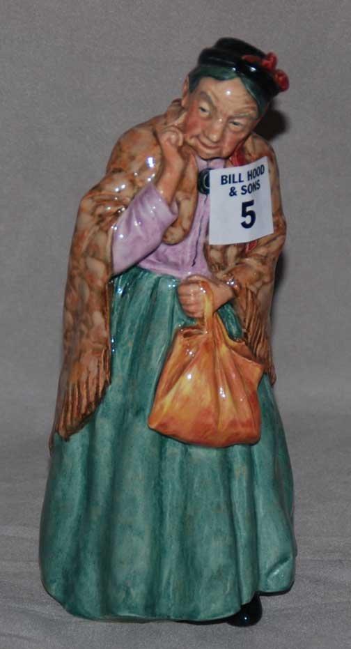 """5: Royal Doulton figure """"Bridget"""" HN2070, 8""""h"""