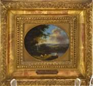 Willem De Heusch (Dutch 1625 - 1692) Miniature oil on